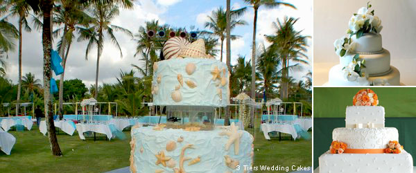 Various Types Of Wedding Cakes In Sizes