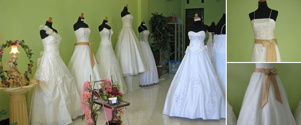 Bali Wedding Gowns