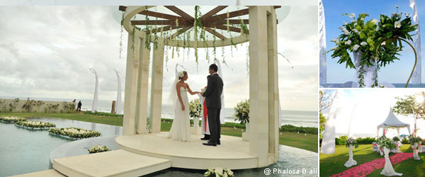 Christian Protestant Wedding Ceremony in Bali