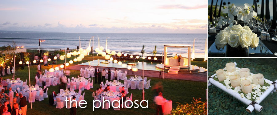The phalosa bali beachfront villa wedding in seminyak for Bali mariage location